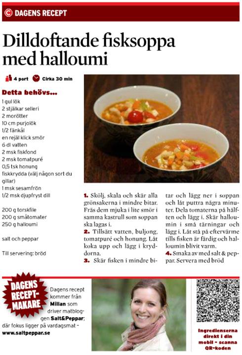 dilldoftande soppa