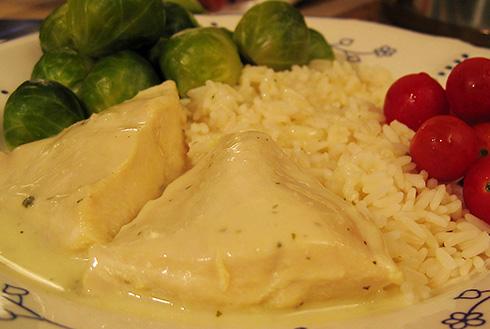 kokt kycklingfile