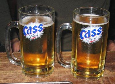 Cass öl :)