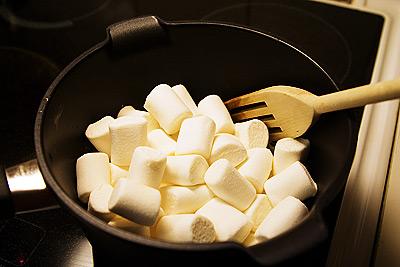 Marshmallows och smör