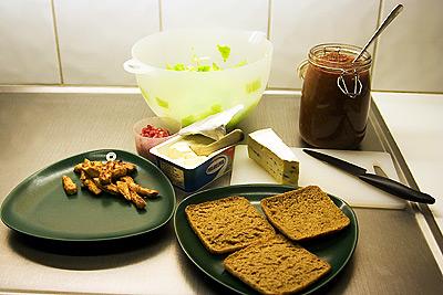 Ingredienser till Mack-SM mackan 2007