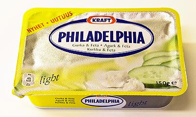 Philadelphiaost - Gurka & Feta