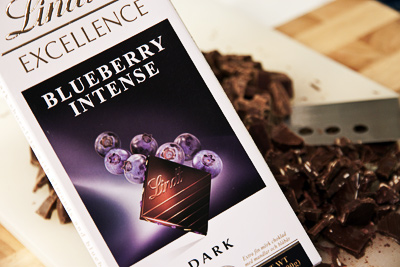 Grovhackad choklad