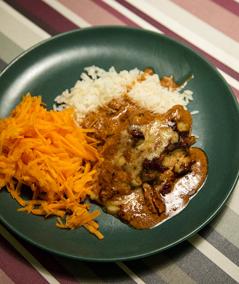 Tinas kyckling med ris