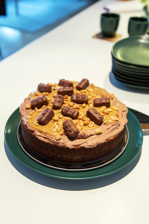 Snickers Cheesecake á la Roy Fares