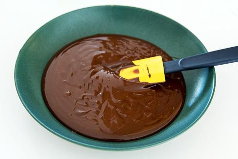Smält choklad