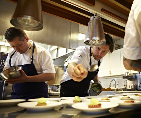 Tommy Myllymäki tävlar för Sverige i Bocuse d´Or – Kock EM, som genomförs samtidigt som GastroNord på Stockholmsmässan.