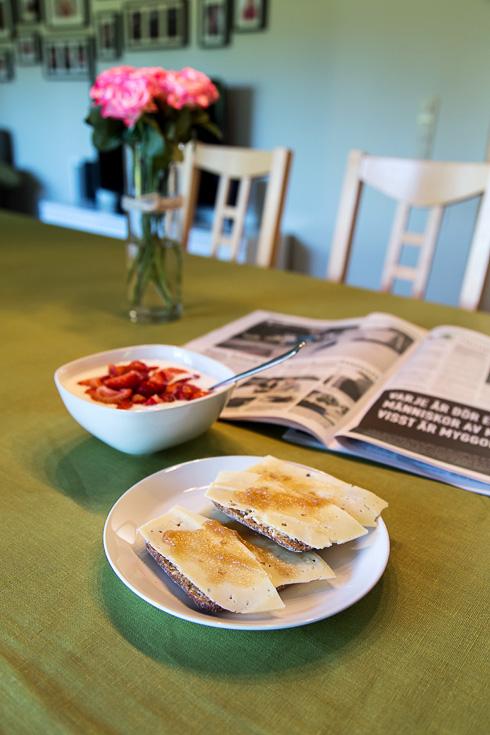 Frukost - rabarbermarmelad