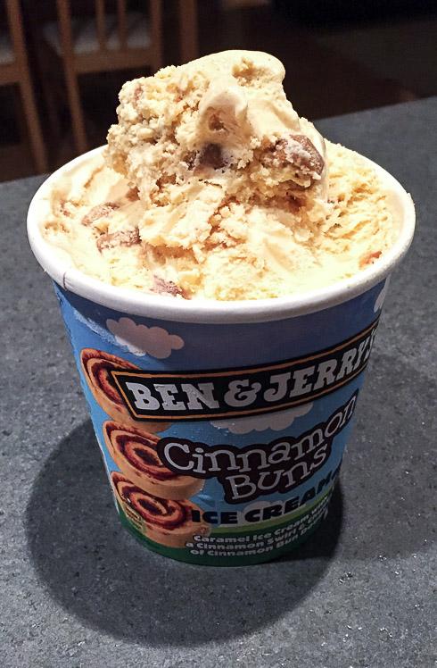 Ben & Jerry Cinnamon Buns