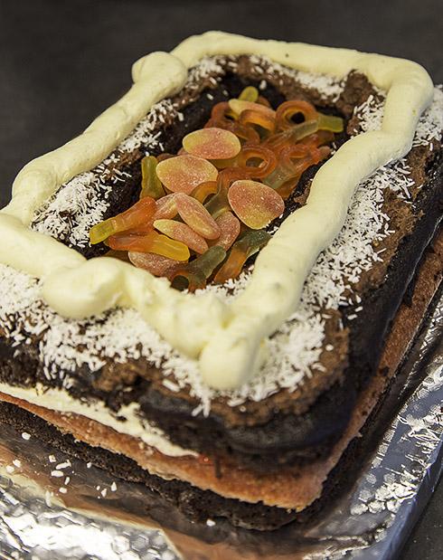 Godisgömma i tårtan