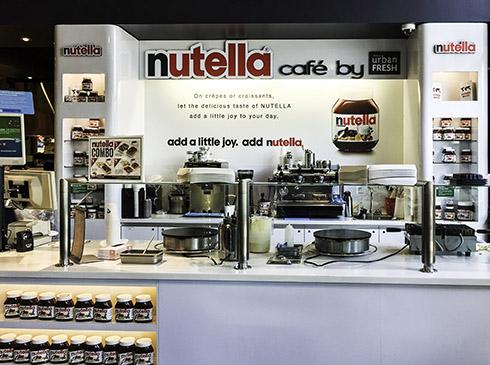 Nutella caféet