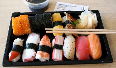 Sushi från Maguro