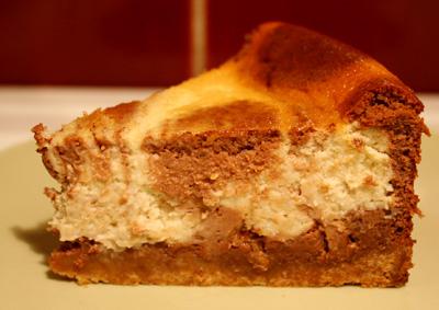 Chunky monkey cheesecake
