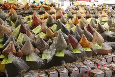 Marknad - kryddor