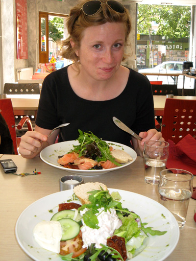 Karin och maten