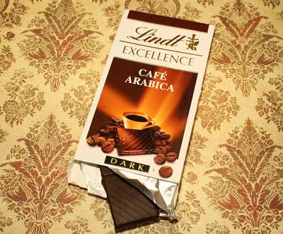 choklad med kaffesmak