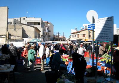 Marknaden i Larnaca