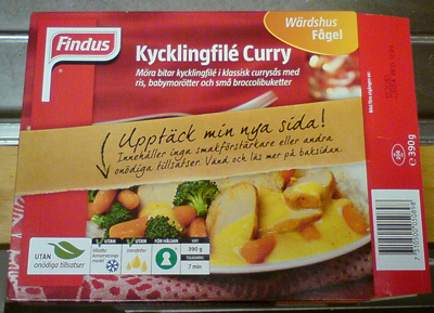 kycklingfile curry
