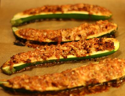 zucchini köttfärs recept
