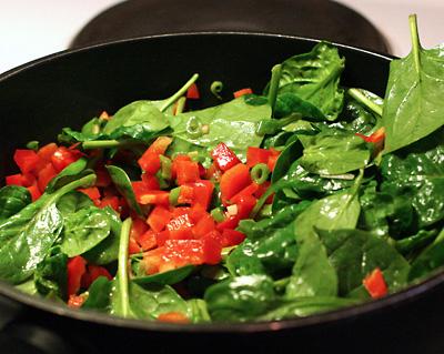 stek grönsakerna