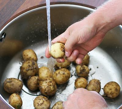 skala potatis