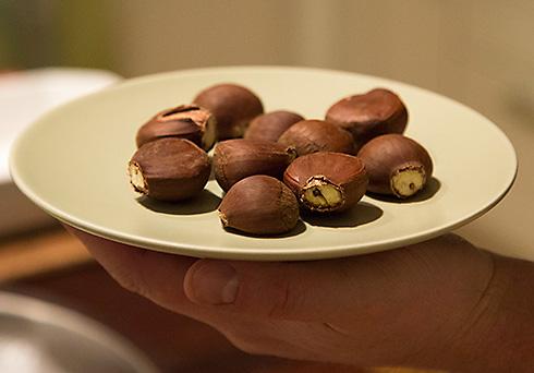 rostade kastanjer jamie oliver