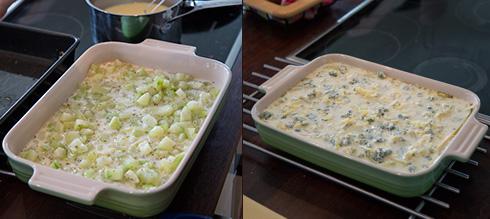 lasagne med fänkål och squash