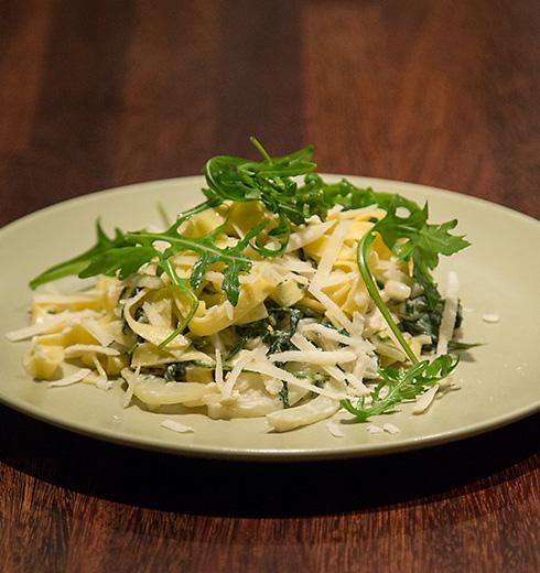 pasta fänkål rucola