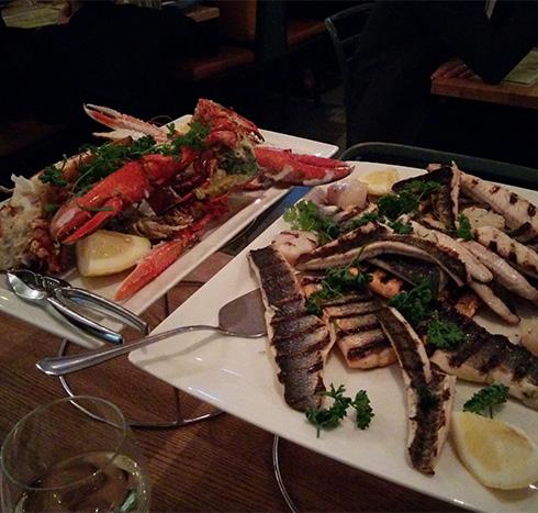 fisk o skaldjur