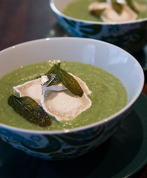 blomkål broccoli soppa