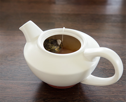 a happy cup of tea