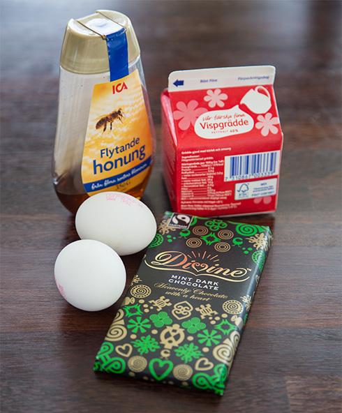ingredienser mintchokladmousse