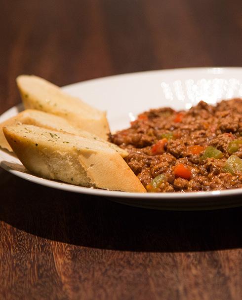 chili con carne med gröna linser