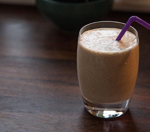 jordnötssmör smoothie