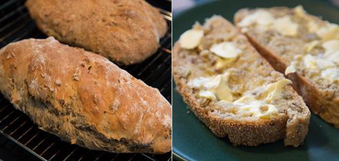färdigt bröd med egen brödkrydda