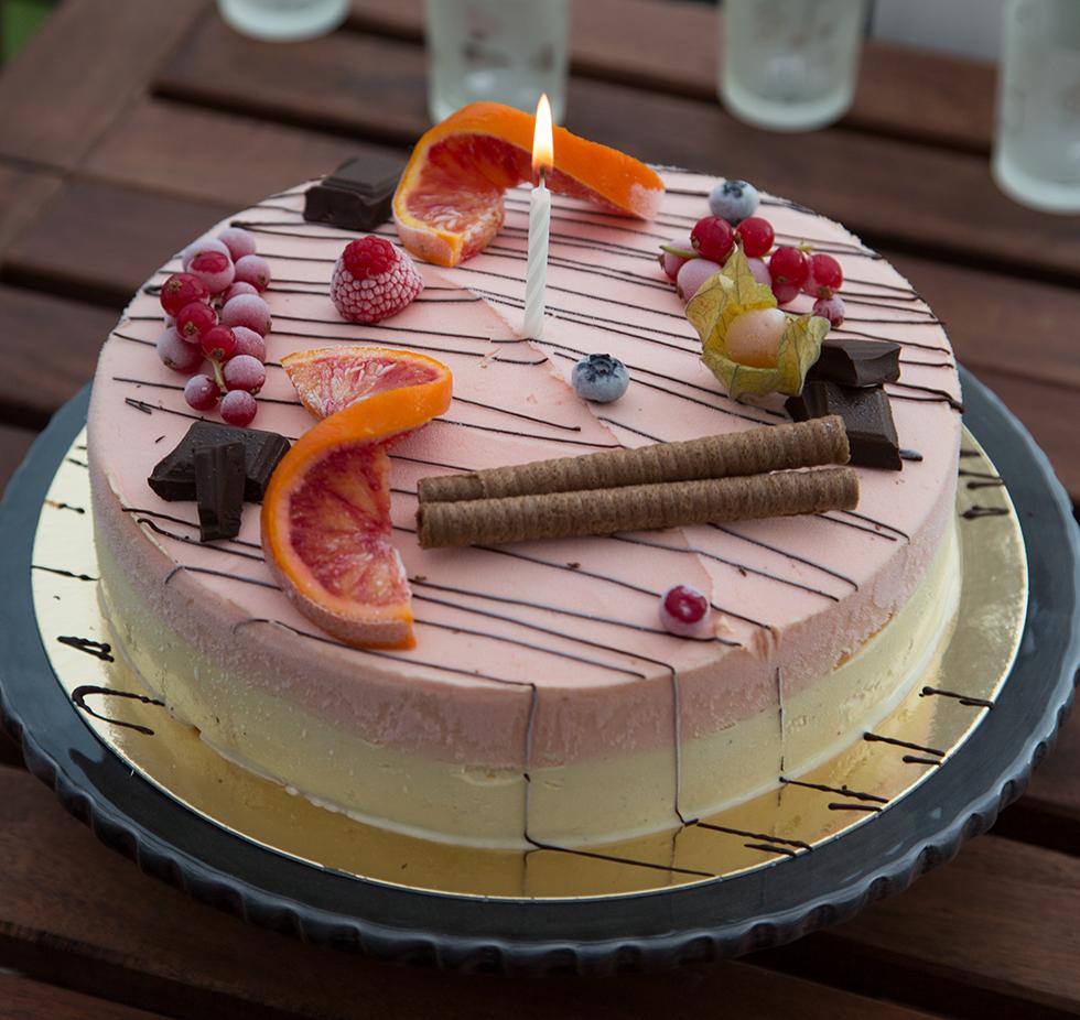 glasstårta