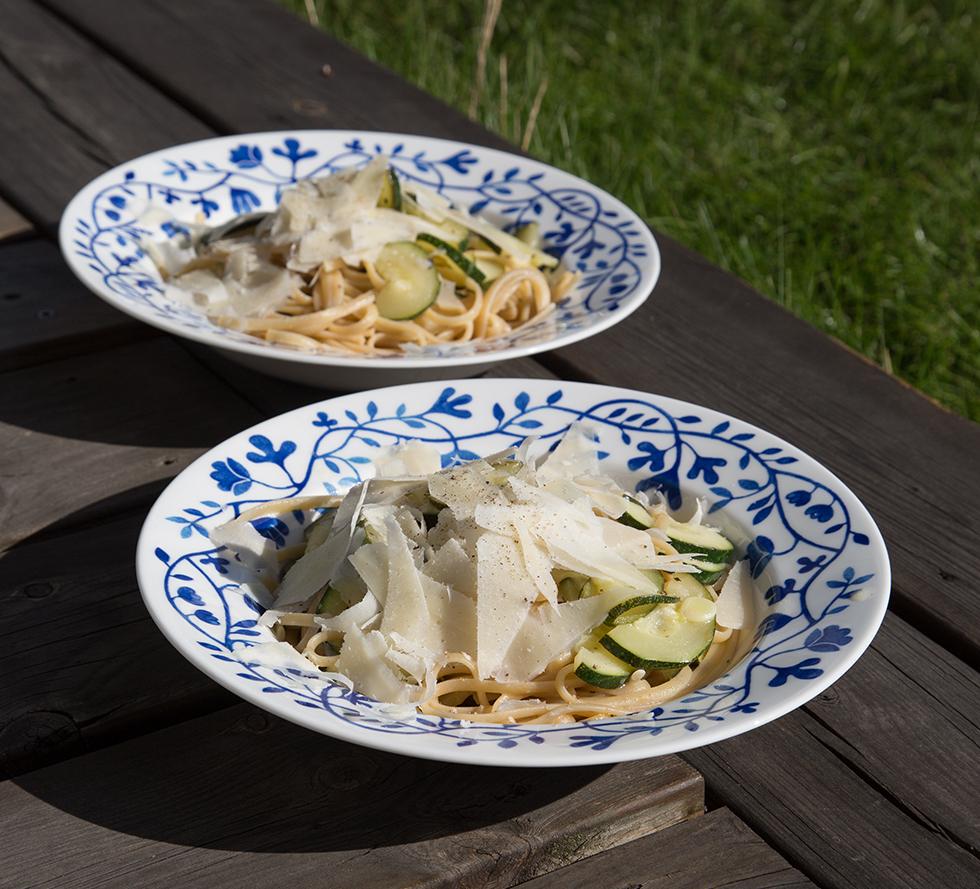 ljuvlig pasta med squash