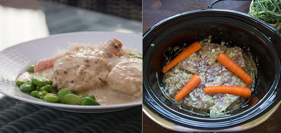 crock pot kyckling
