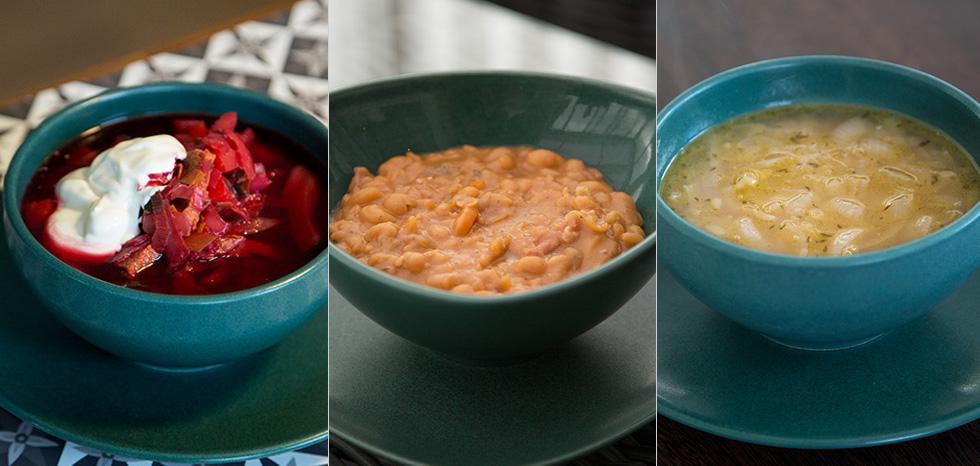 crock pot och slowcooker soppor med recept