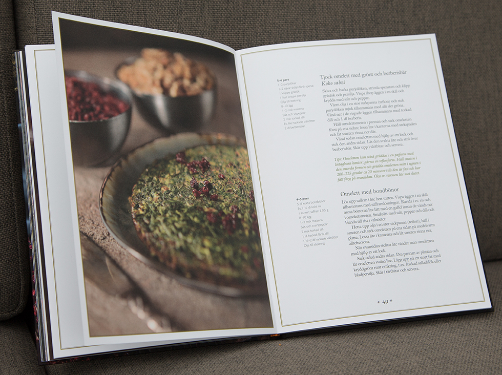 Kokbok med persisk mat