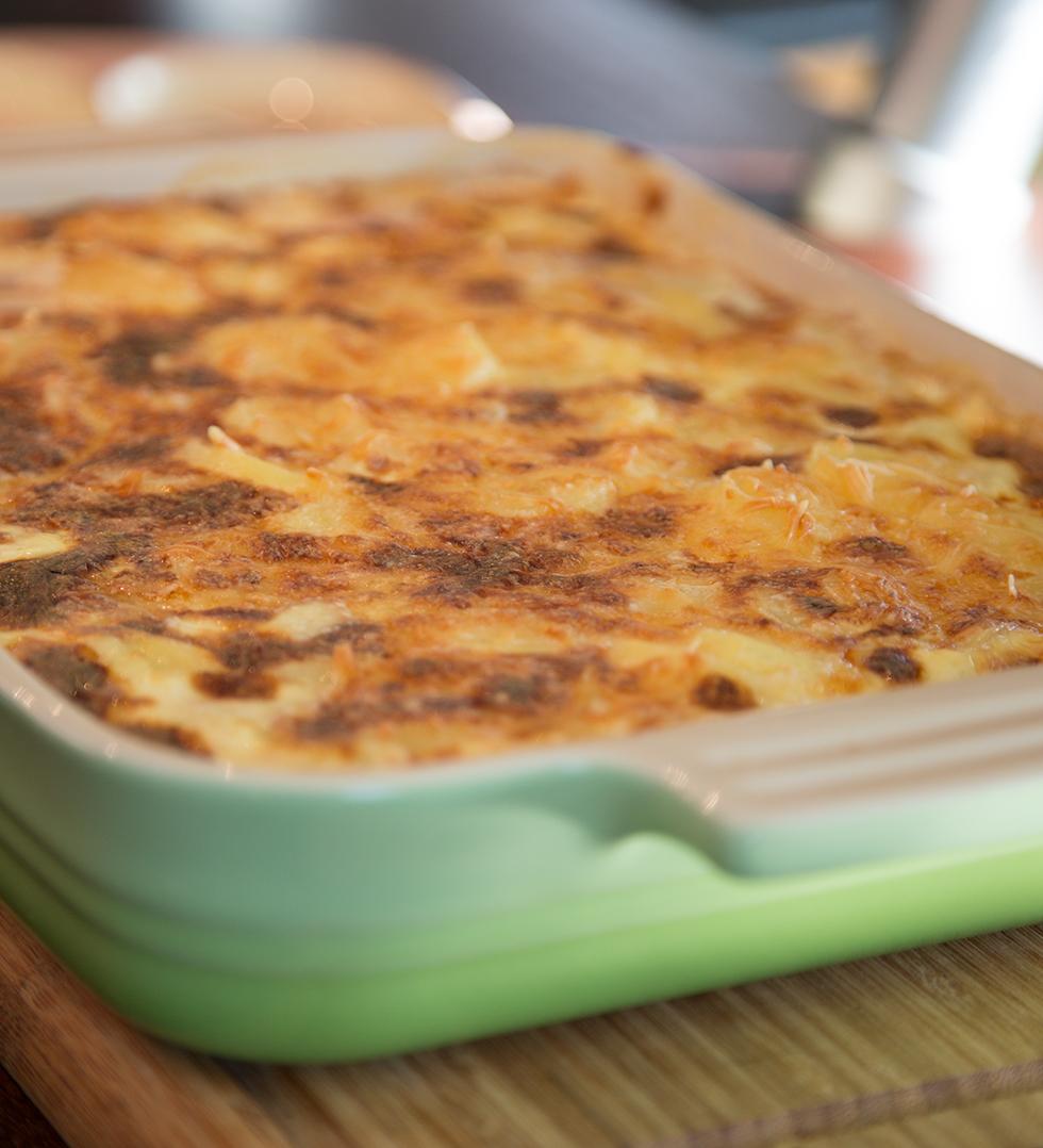den perfekta potatisgratängen