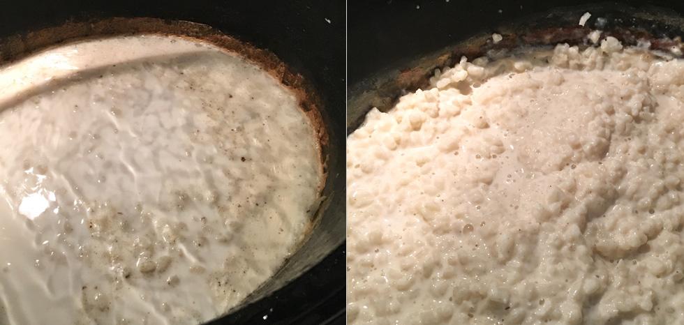hur man lyckas med risgrynsgröt i slowcooker