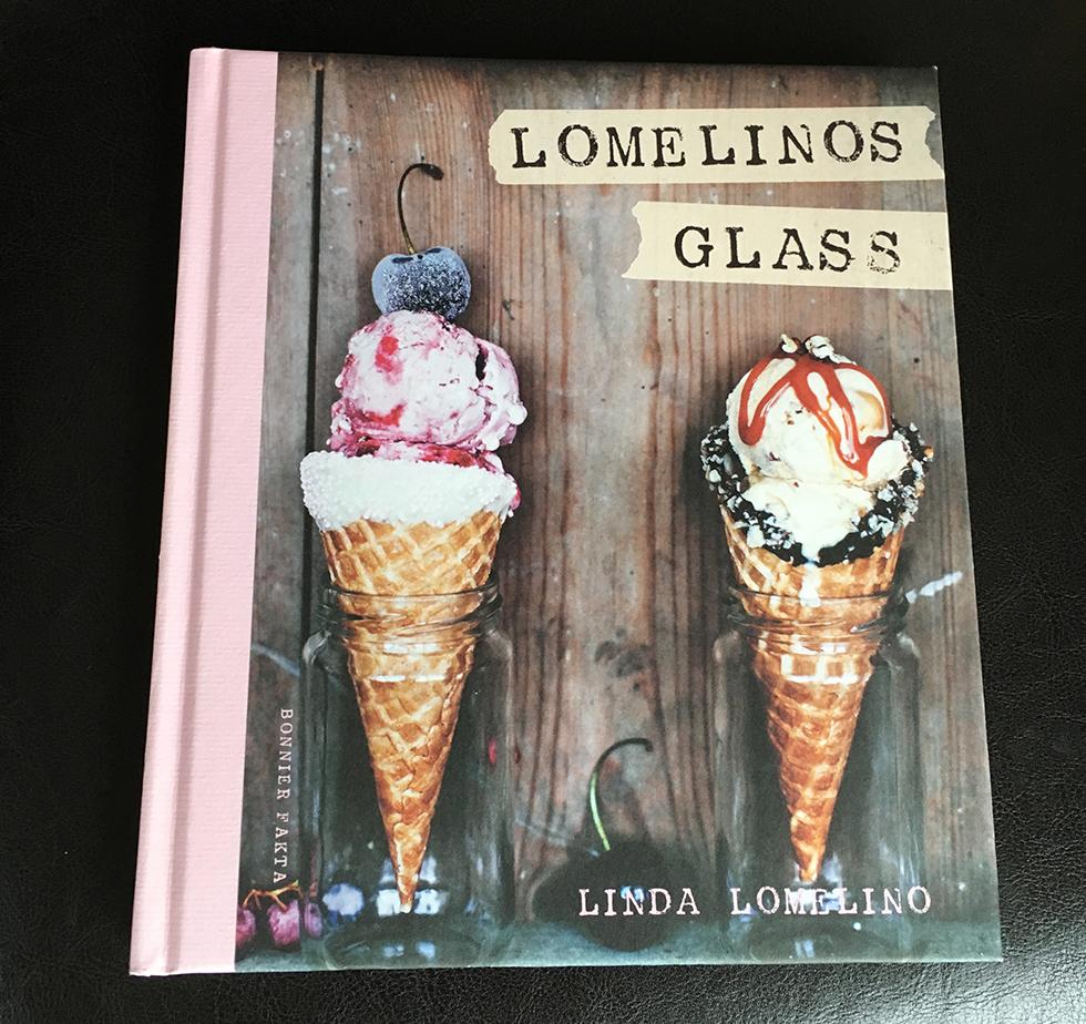 Lomelinos glass - vaniljglass och vattenmelonsorbet