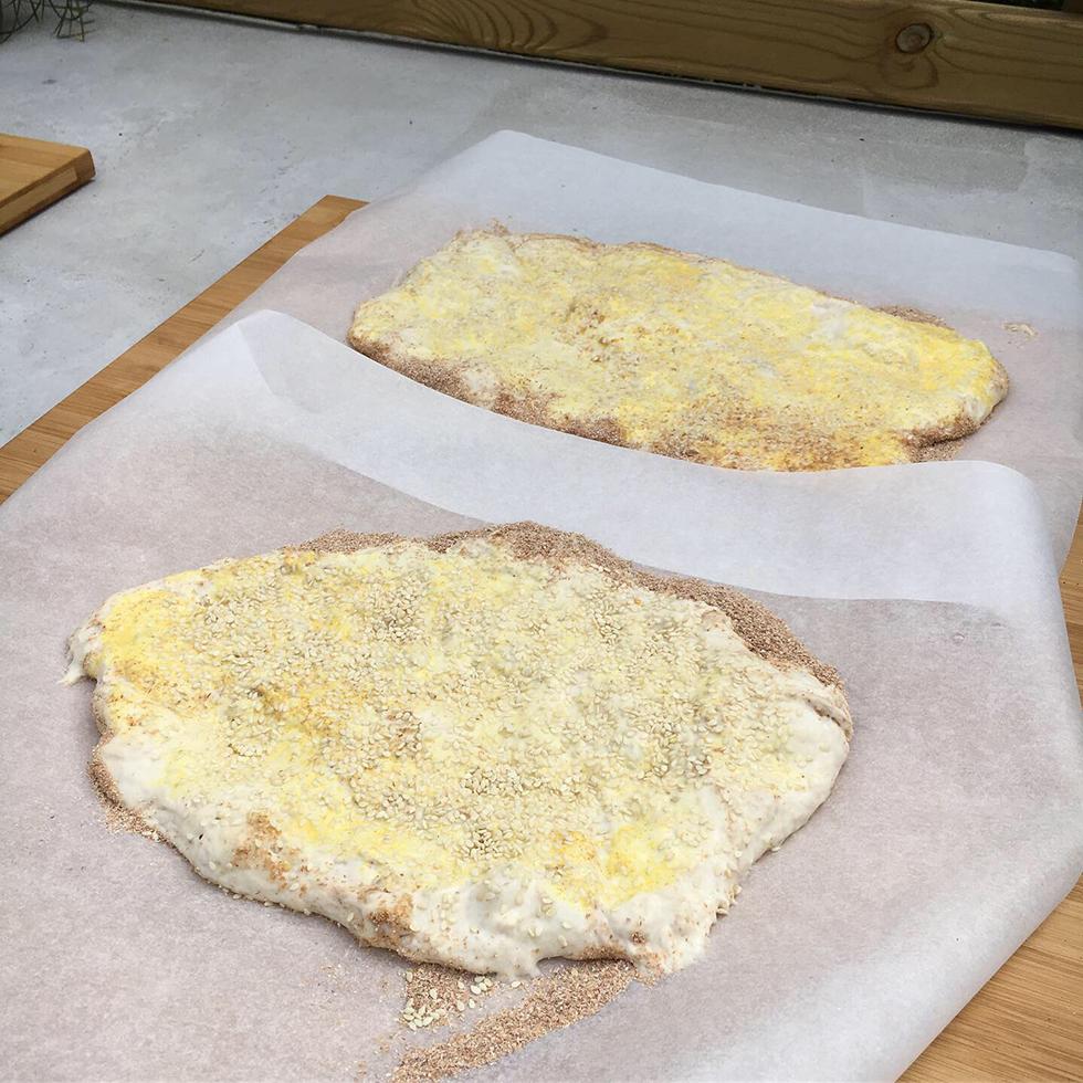 Nan barbari - Iranskt bröd