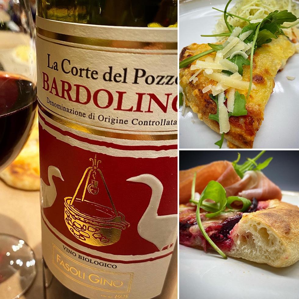Fantastiskt gott vin till pizza. Flera tips!