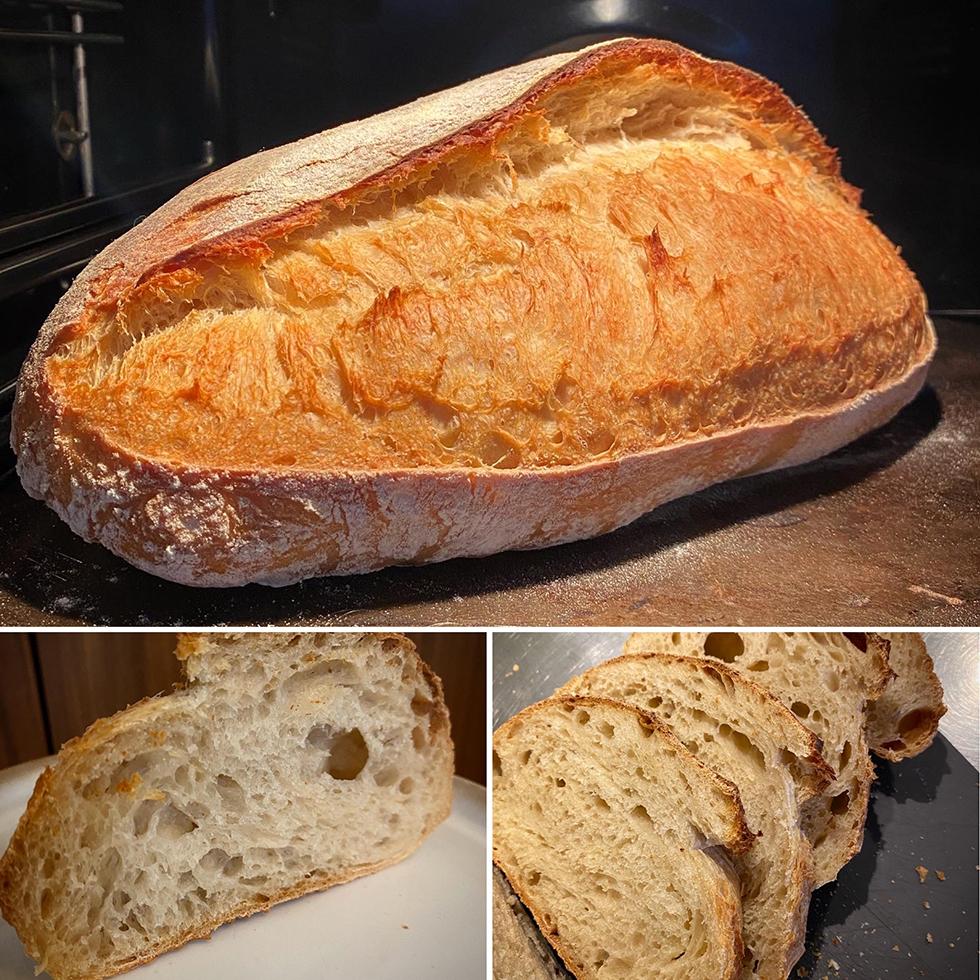 Hur gör man surdegsbröd med öra. Levain bröd.