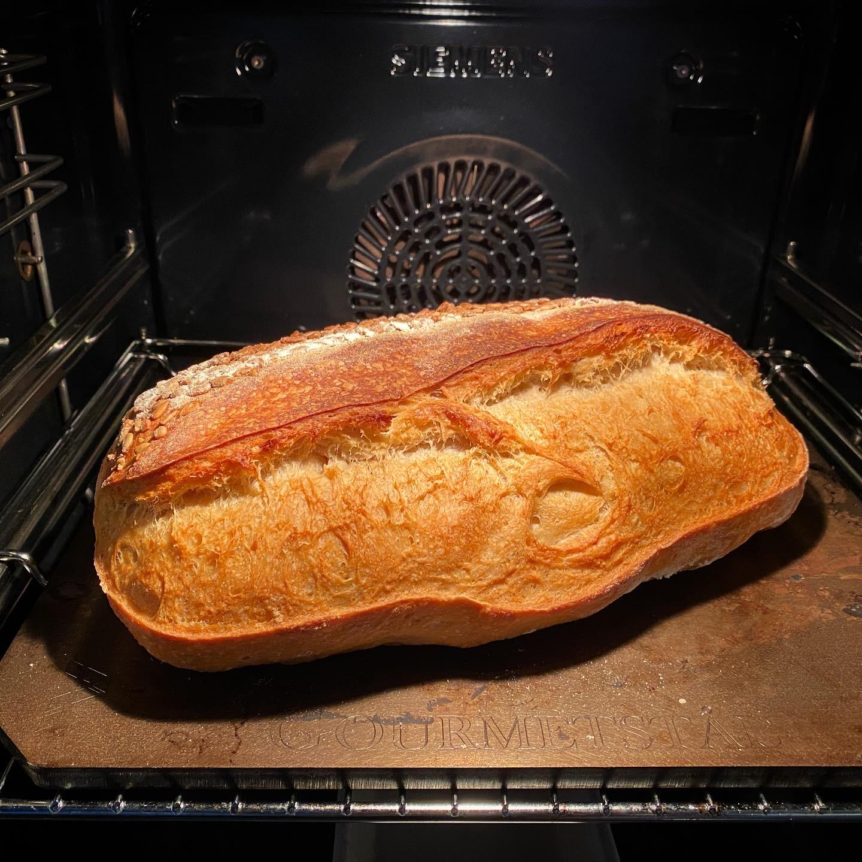 Bröd bakat med ölandsvete och recept