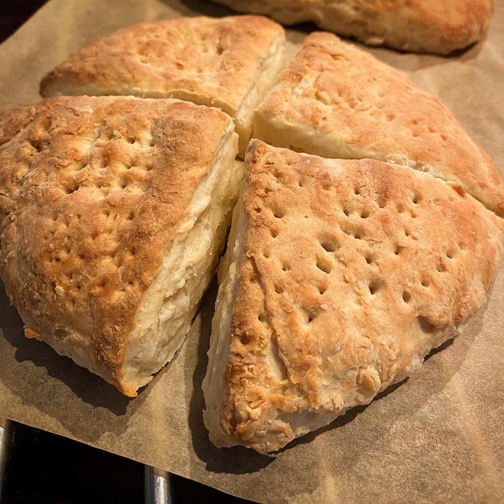 Nybakade scones doftar ljuvligt