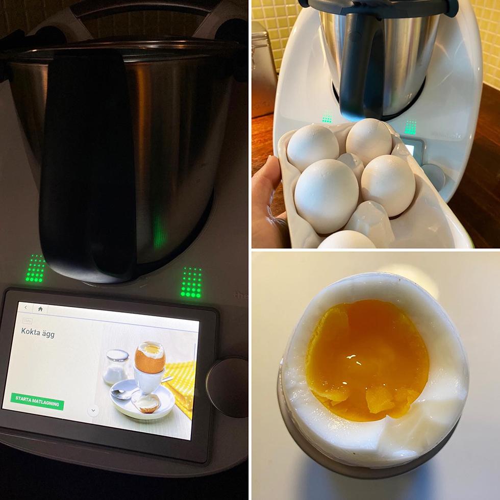 Hur kokar man ägg i en thermomix, här är svaret